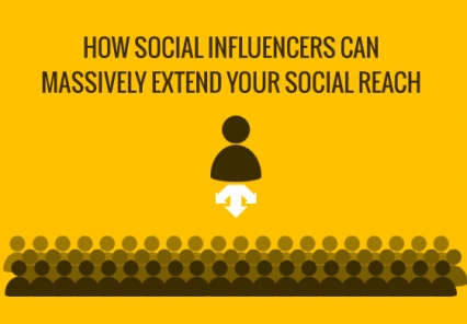 How Social Influencers can massively extend your social reach